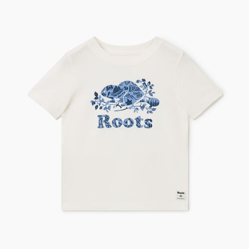 Roots-Kids Toddler Boys-Toddler Camp Cooper T-shirt-Ivory-A
