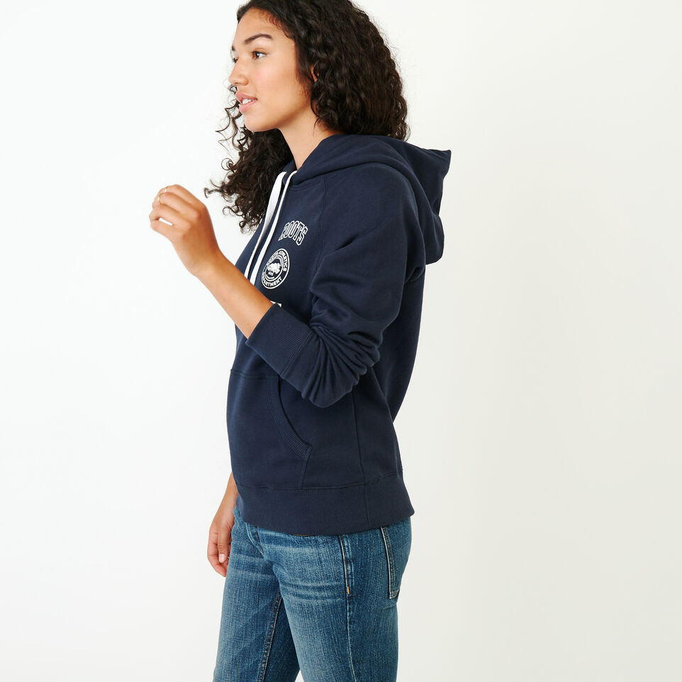 Roots-Women Our Favourite New Arrivals-Stamps Kanga Hoody-Navy Blazer-C
