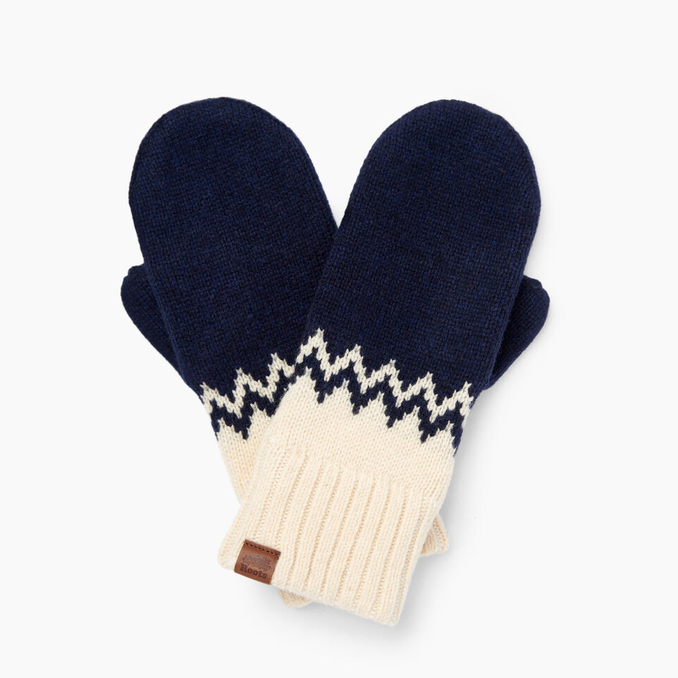 Roots-Women Our Favourite New Arrivals-Tundra Fair Isle Mitt-Multi-A