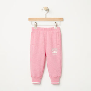 Roots-Kids Baby Girl-Baby RBC Slim Sweatpant-Pink Mix-A