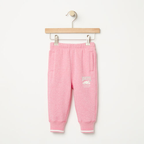 Roots-Sale Baby-Baby RBC Slim Sweatpant-Pink Mix-A