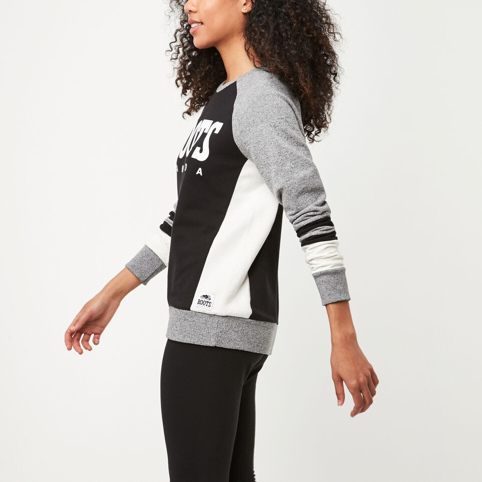 Roots-undefined-Retro Roots Cozy Fleece Crew-undefined-C