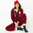 Roots-undefined-Roots Park Plaid Onesie-undefined-B