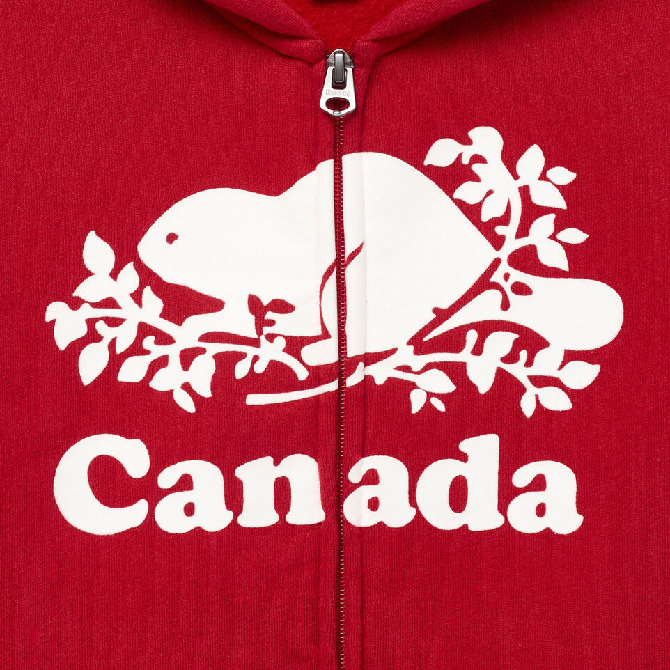 Roots-Kids Our Favourite New Arrivals-Boys Canada Full Zip Hoody-Sage Red-C