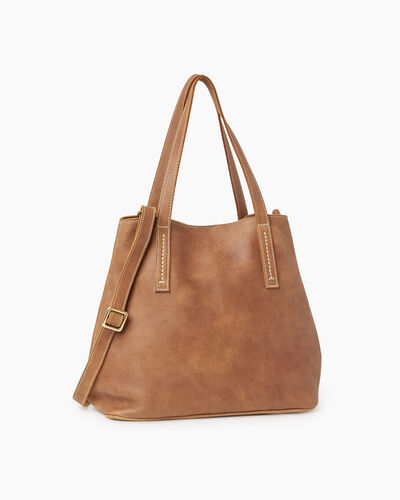 Roots-Women Totes-Amelia Tote-Natural-A