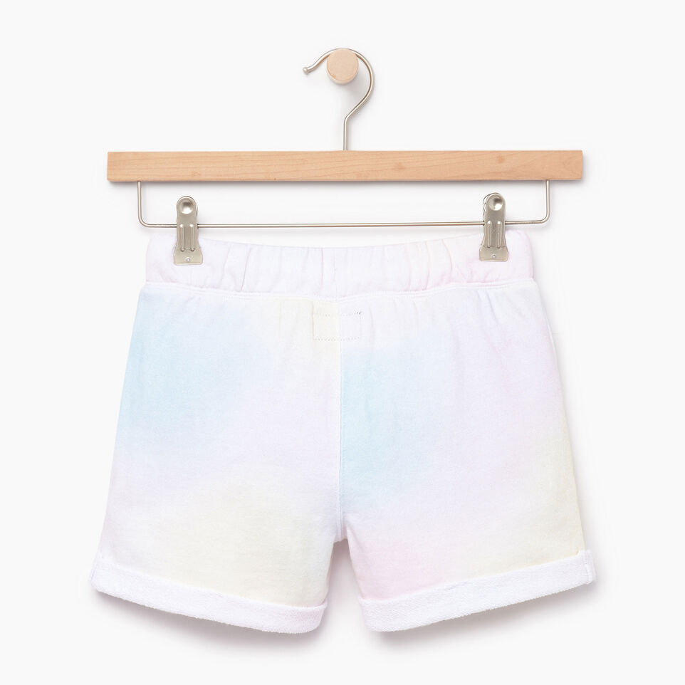 Roots-Kids Our Favourite New Arrivals-Girls Watercolour Short-Ivory-B