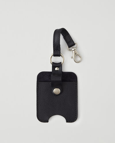 Roots-New For This Month Mask & Wellness Accessories-Hand Sanitizer Holder 2.0-Black-A