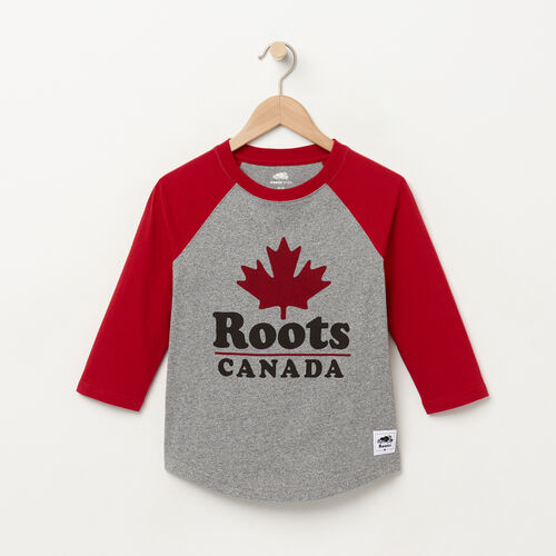 Roots-Kids Boys-Boys Canada Ringer Raglan Top-Salt & Pepper-A