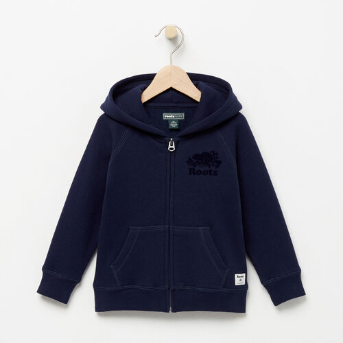 Roots-Kids Toddler Boys-Toddler Original Full Zip Hoody-Navy Blazer-A
