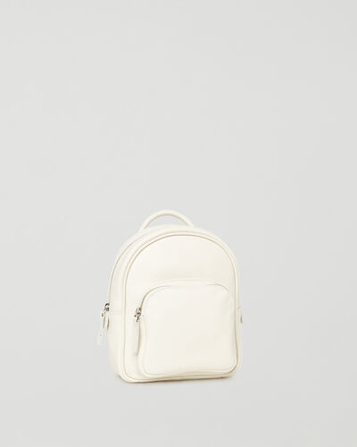 Roots-Leather Backpacks-Mini Chelsea Pack Cervino-Ivory-A
