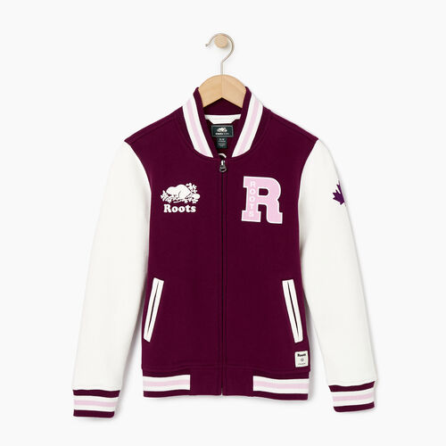 Roots-Kids Our Favourite New Arrivals-Girls 2.0 Awards Jacket-Pickled Beet-A