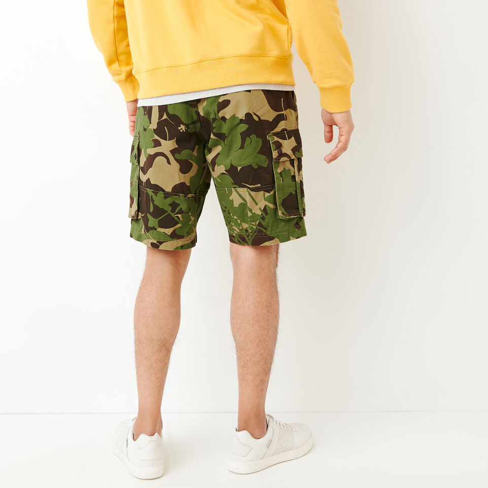 Roots-undefined-Burlington Camo Cargo Short-undefined-D
