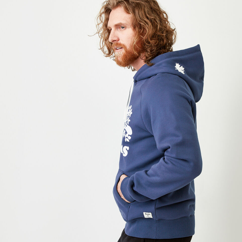 Roots-Men Our Favourite New Arrivals-Original Kanga Hoody-Sargasso Sea-C