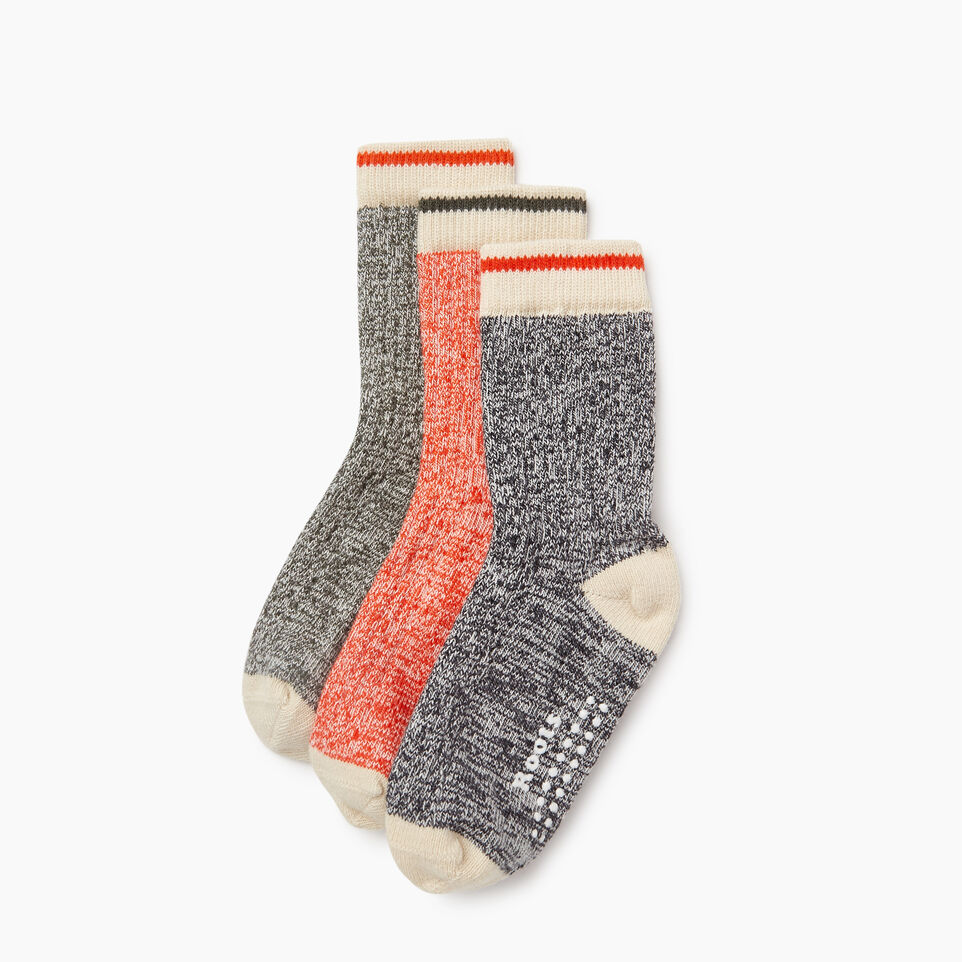 Roots-Kids New Arrivals-Toddler Cabin Sock 3 Pack-Loden-A