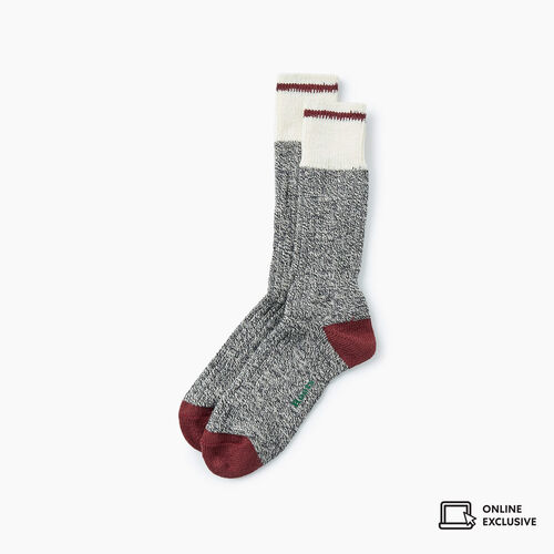 Roots-Gifts Lounge-Mens Roots Pop Cabin Sock 3 Pack-Mulberry Mix-A