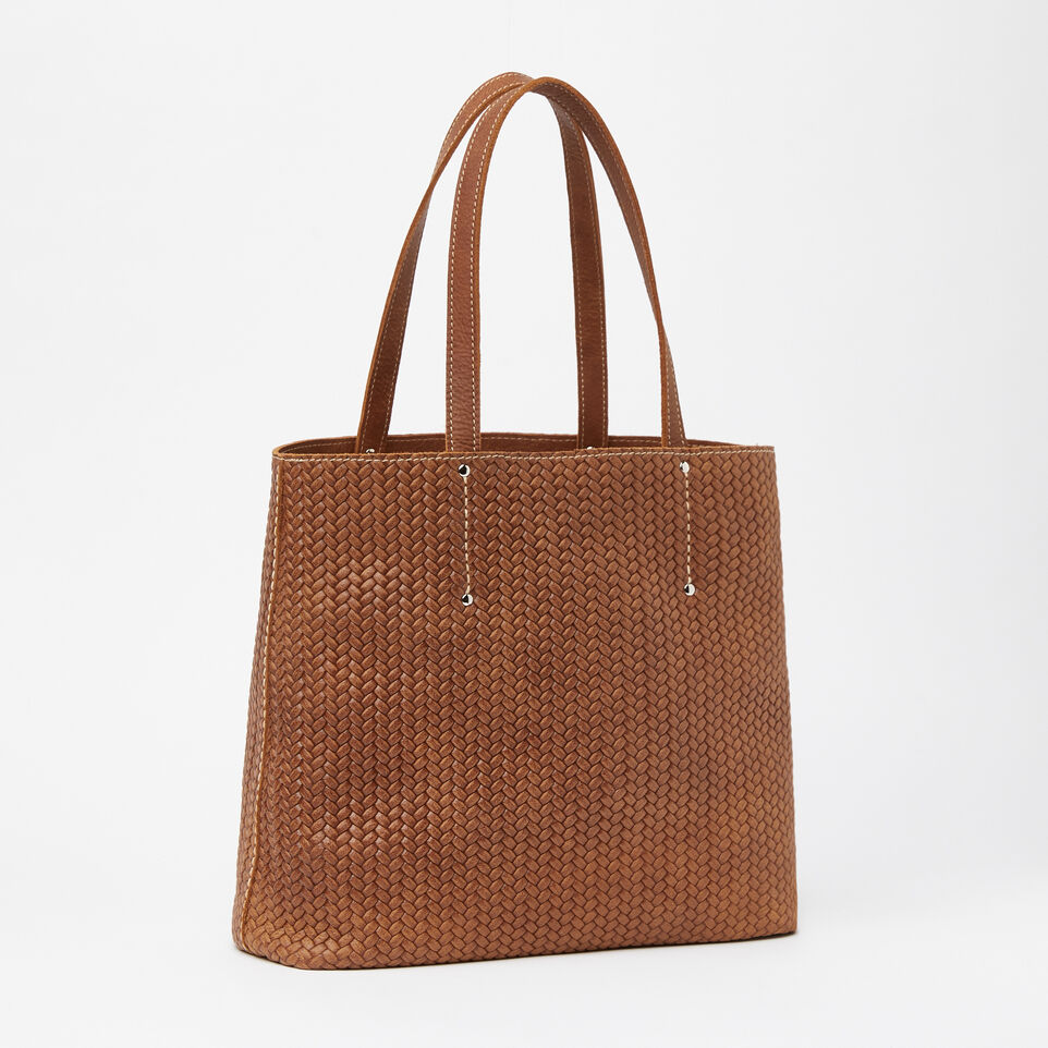 Roots-undefined-Downtown Tote Woven-undefined-C