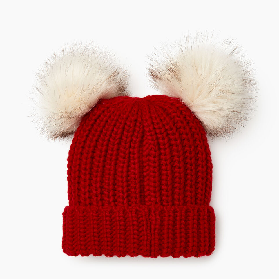 Roots-Sale Kids-Toddler Girl Olivia Toque-Cabin Red-B