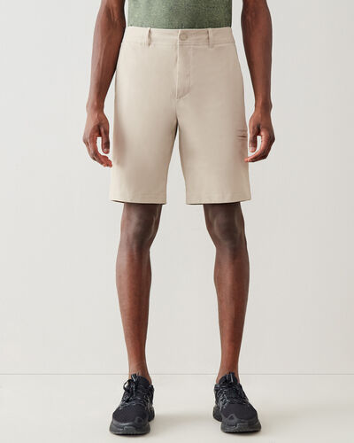 Roots-New For This Month Journey Collection-Journey Tech Short 9.5 In-True Khaki-A