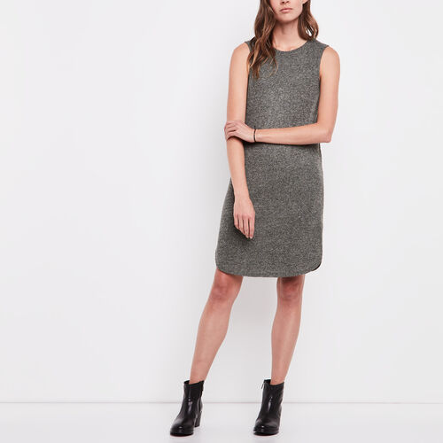 Roots-Women Dresses-Laurena Dress-Dusty Olive Pepper-A