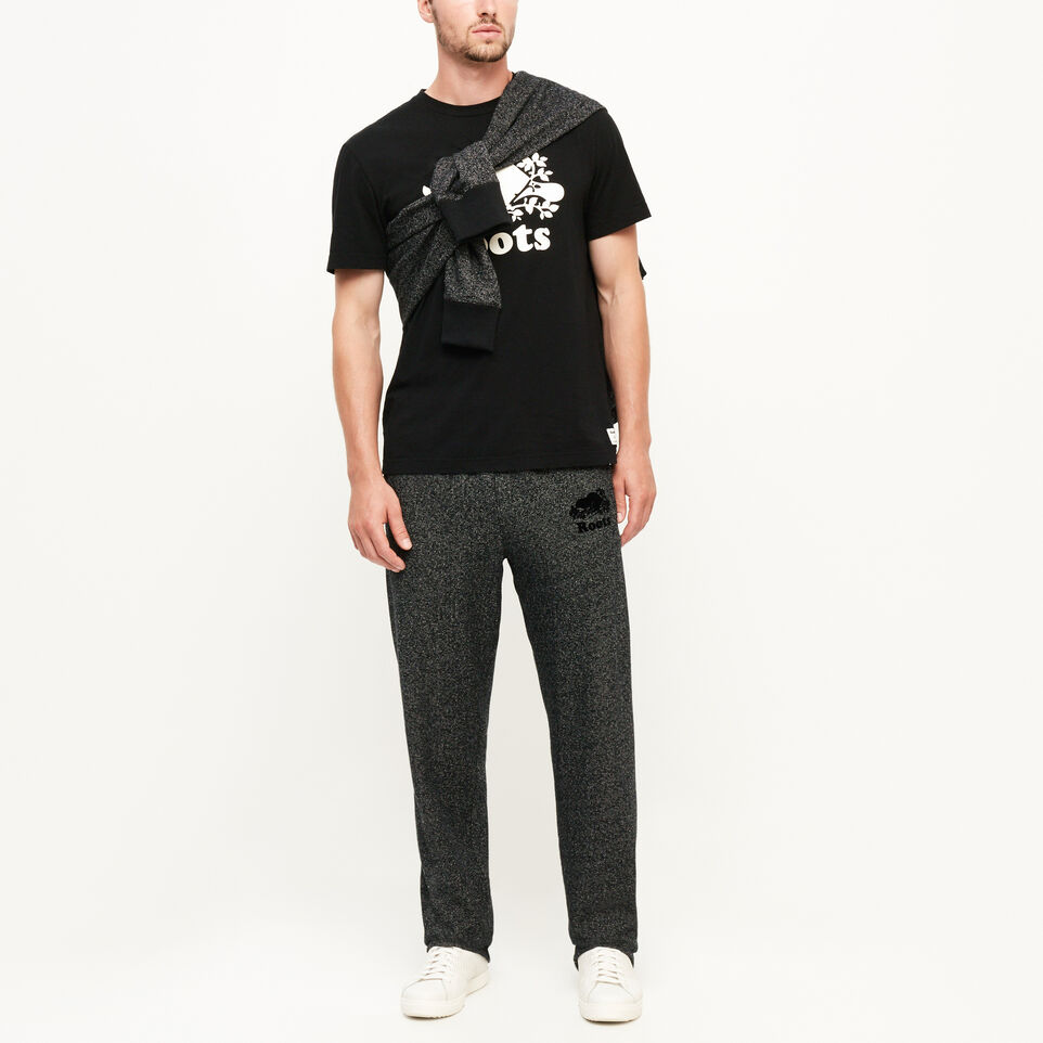 Roots-Men Bestsellers-Heritage Sweatpant-Black Pepper-B