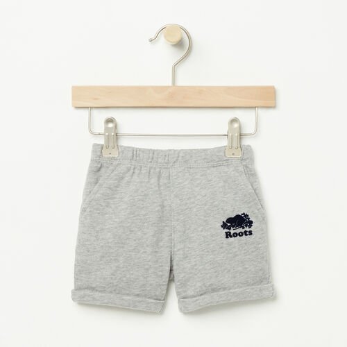 Roots-Kids Bestsellers-Baby Jasper Short-Grey Mix-A