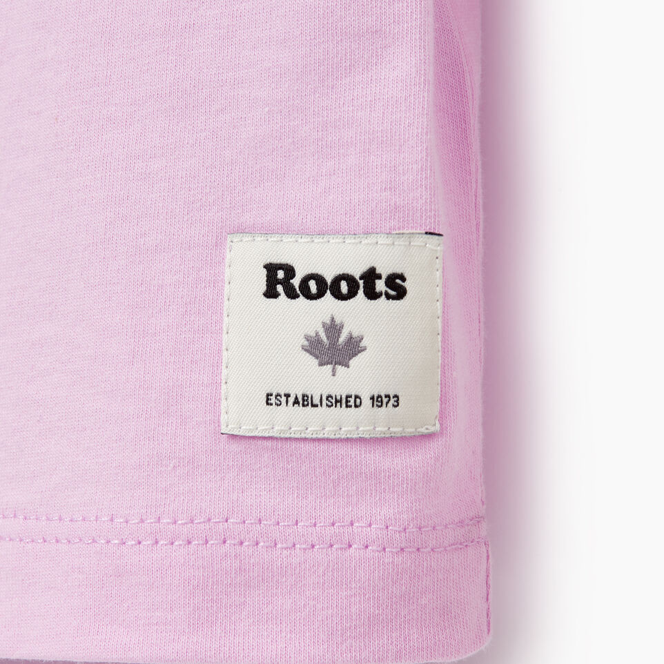 Roots-Kids Our Favourite New Arrivals-Girls Roots Travel T-shirt-Orchid Bouquet-E