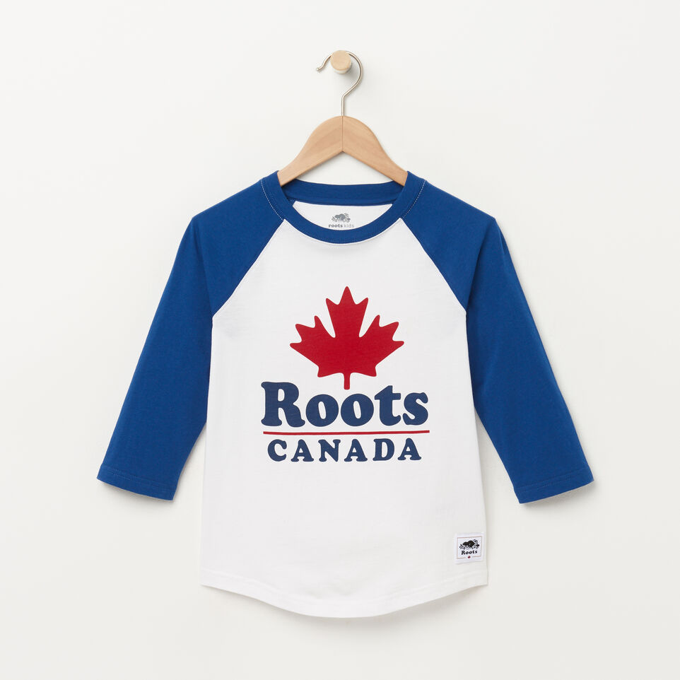 Roots-undefined-Chandail à manches raglan Canada pour garçons-undefined-A