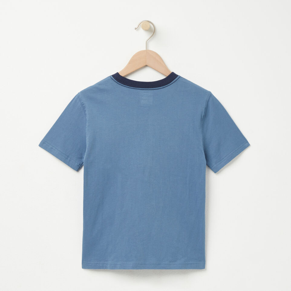 Roots-undefined-Boys Roots Maple T-shirt-undefined-B