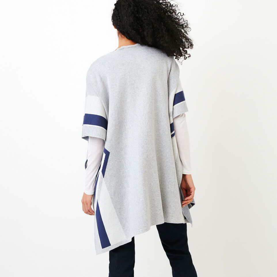 Roots-Women Our Favourite New Arrivals-Travel Wrap-Grey Mix-D