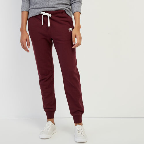 Roots-Women Categories-Slim Cuff Sweatpant-Port Royale-A