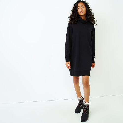 Roots-Women Our Favourite New Arrivals-Cooper Turtleneck Dress-Black-A