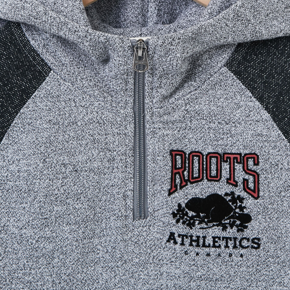 Roots-undefined-Boys Colour Block 1/2 Zip Hoody-undefined-C