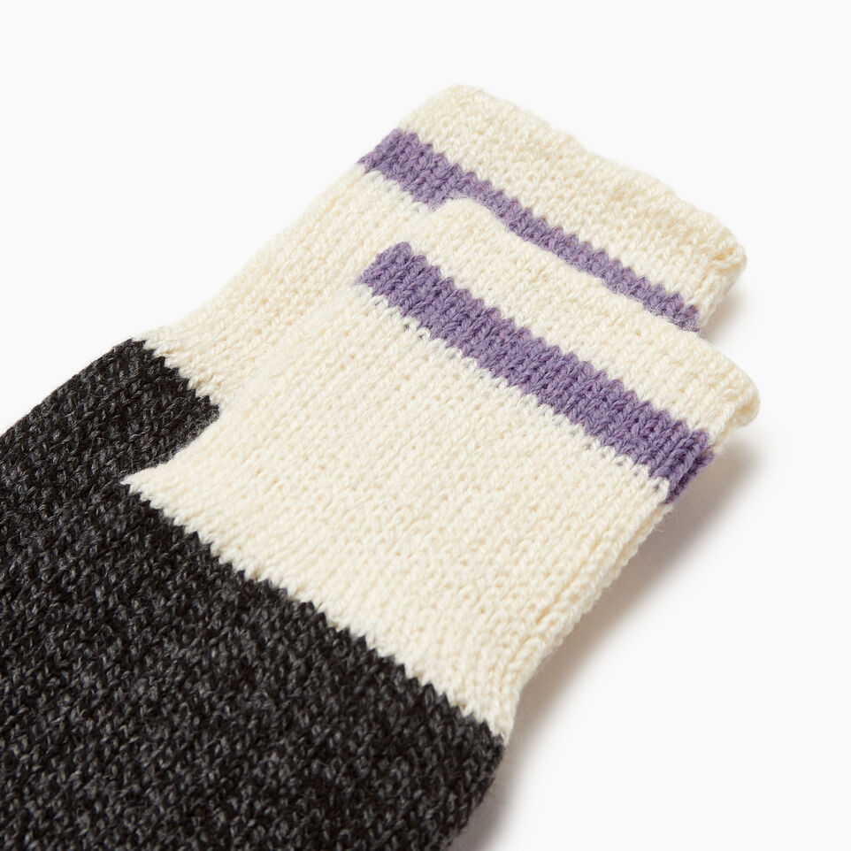 Roots-Women Categories-Womens Roots Pop Cabin Sock 3 Pack-Thistle-B