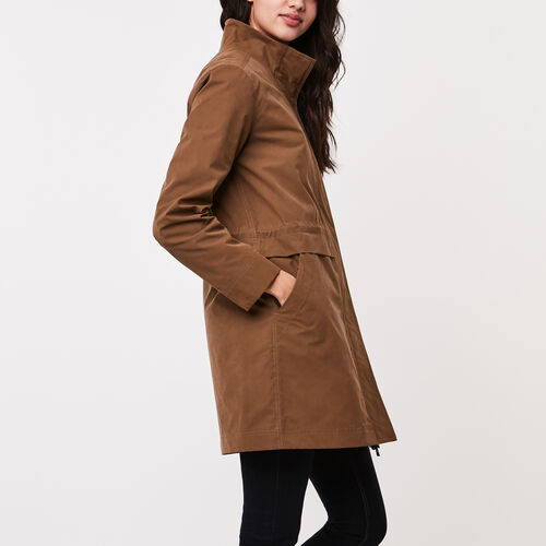Roots-Sale Jackets & Sweaters-Addison Coat-Calfskin Tan-A