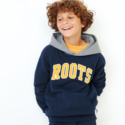 Roots-Kids Our Favourite New Arrivals-Boys 2.0 Colourblock Raglan Hoody-Navy Blazer-A