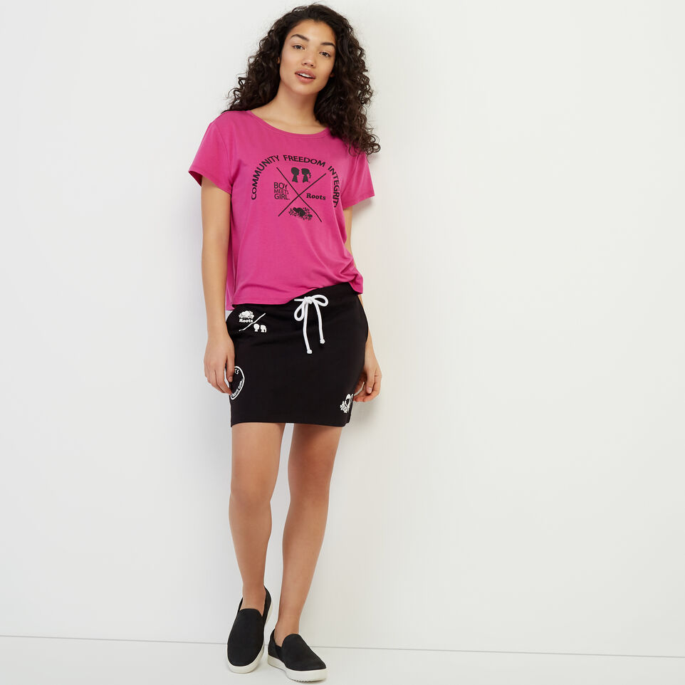 Roots-undefined-Roots x Boy Meets Girl - Relaxed Fit CFI T-shirt-undefined-B