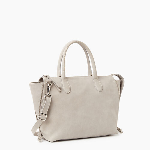 Roots-Leather Handbags-Arianna Bag Tribe-Sterling Grey-A