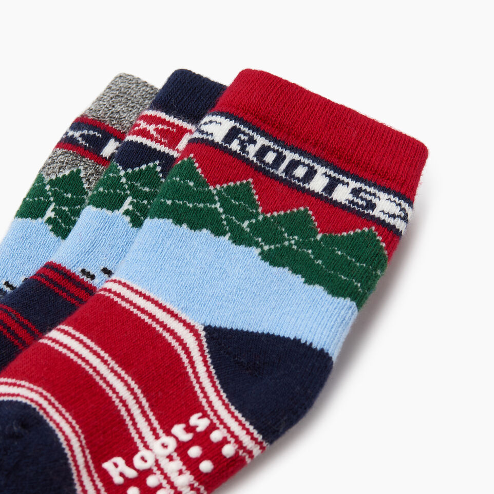 Roots-undefined-Toddler Winter Break Sock 3 Pack-undefined-C