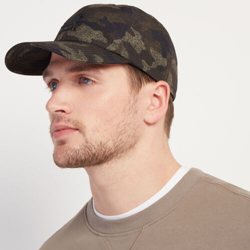 Roots-Men New Arrivals-Camo Baseball Cap-Camo Print-A