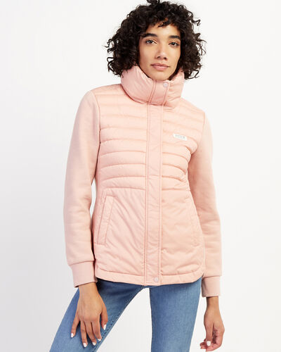 Roots-New For February Journey Collection-Journey Hybrid Jacket-Misty Rose-A