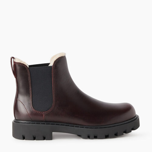 Roots-Footwear New Arrivals-Womens Tobermory Chelsea Boot-Raisin-A