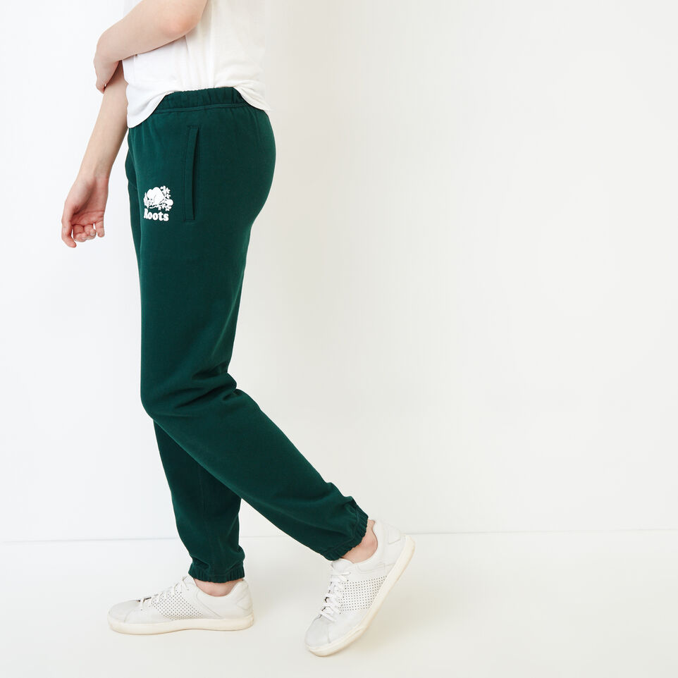 Roots-Women Our Favourite New Arrivals-Original Sweatpant-Varsity Green-C