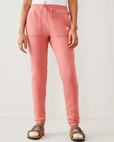 Roots-Women Bottoms-Spruce Slim Sweatpant-Canyon Rose-A