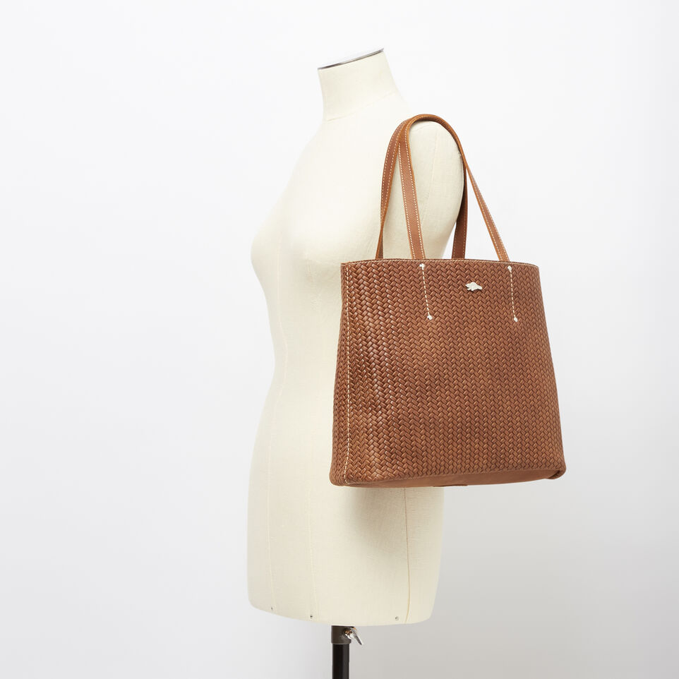 Roots-undefined-Downtown Tote Woven-undefined-B