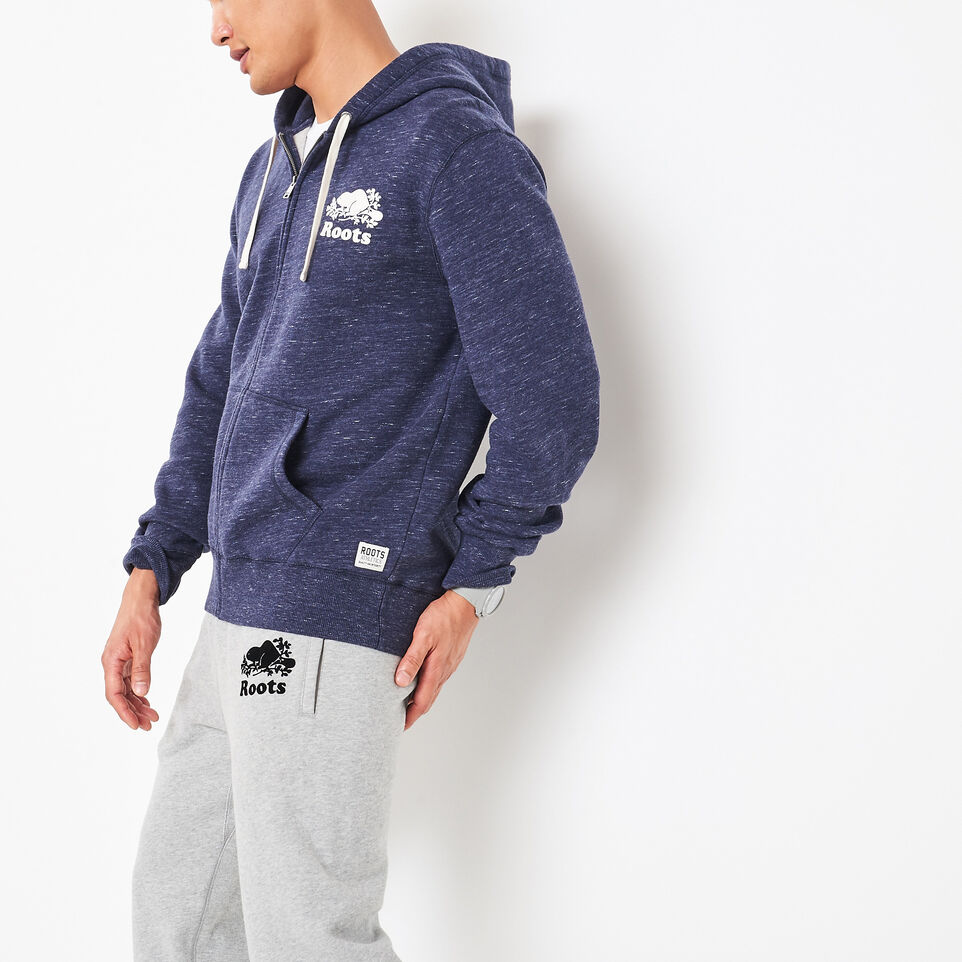 Roots-undefined-3 On 3 Space Dyed Zip Hoody-undefined-C