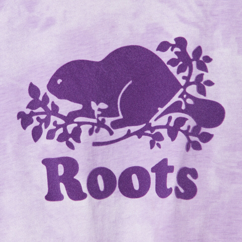 Roots-Kids New Arrivals-Girls Tie T-shirt-African Violet-D