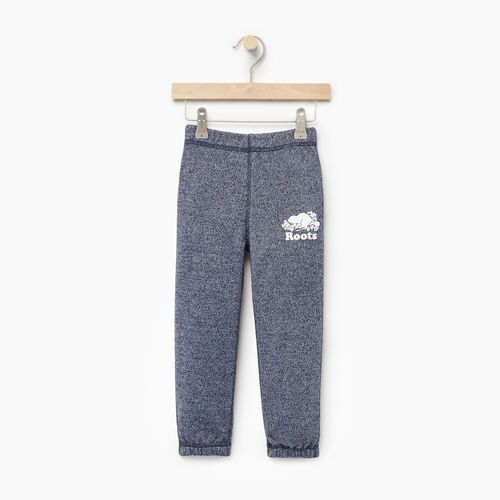Roots-Clearance Kids-Toddler Original Sweatpant-Navy Blazer Pepper-A
