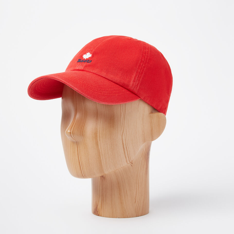 Roots-undefined-Cooper Roots Leaf Baseball Cap-undefined-B