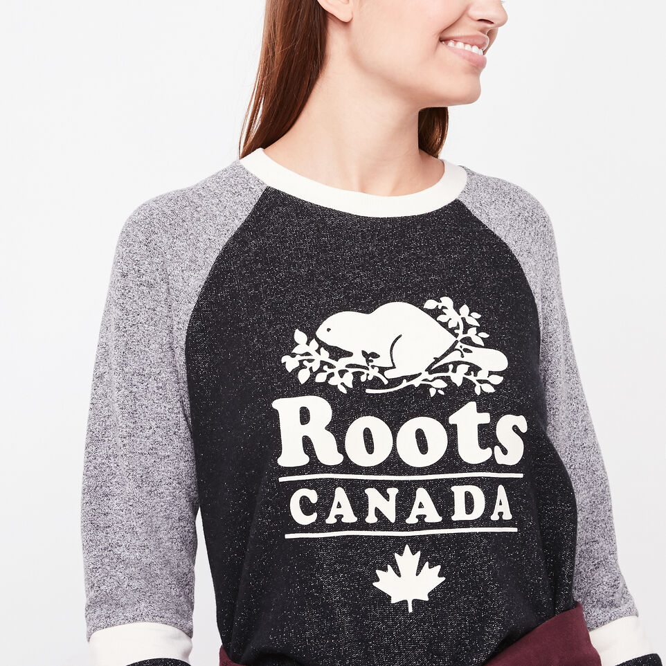 Roots-undefined-Chandail douillet contrastant-undefined-C