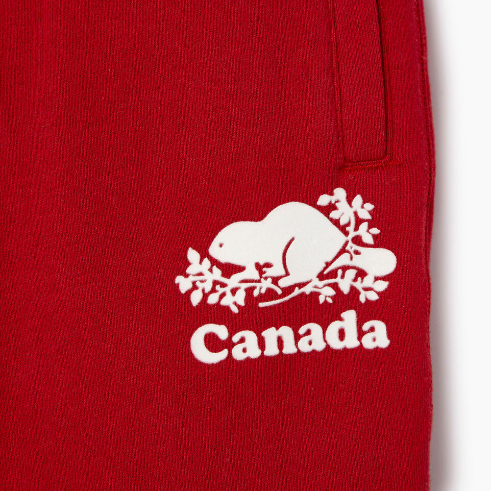 Roots-Kids Our Favourite New Arrivals-Boys Canada Short-Sage Red-D